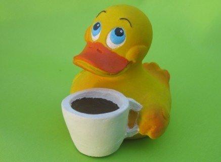 Lanco Canard de bain café