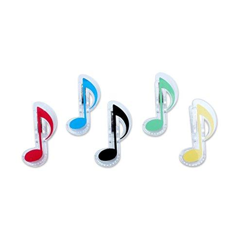 ote Clip Clip-Buch-Seite Clip, Kunststoffe Musik stationär ()