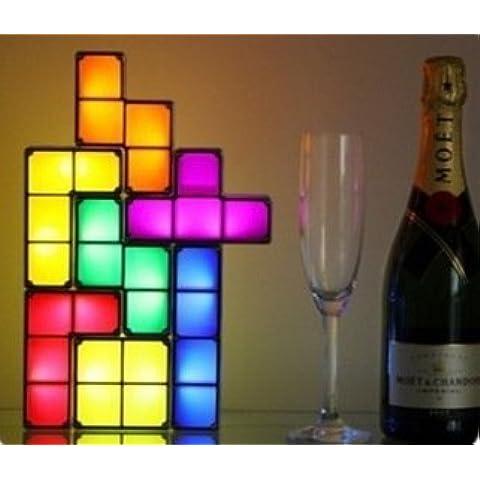 Diamanti Russia luci nuovo regalo creativo unico scatola puzzle led scrivania lampada luce