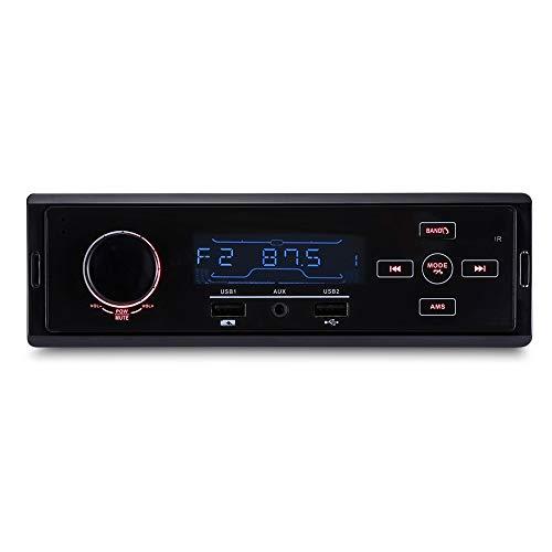 Wencaimd Bluetooth Autoradio K504 Auto MP3 Player Bluetooth FM Radio Tuner USB Lade AUX-Eingang zum Autos Automobile