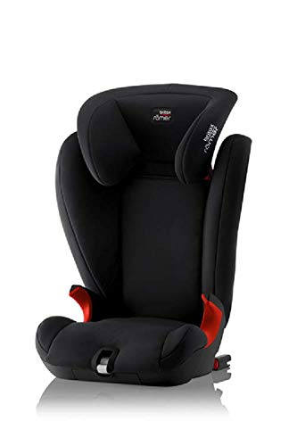 Britax Römer KIDFIX SL BLACK SERIES Group 2-3 (15-36kg) Car Seat - Cosmos Black  Simple installation - soft-latch isofit system Misuse limiting design - intuitively positioned seat belt guides Lightweight - easy to transfer between cars 1