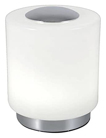 Fabas Luce 3257-30-138 Lampe de Table LED Métal Chrome 14 x 10 cm 8 W