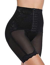 0990598e9b931 SLIMBELLE Tummy Control Thigh Slimmer Panties Knickers Underwear Adjustable Shapewear  Butt Lifter High Waist Briefs Hip