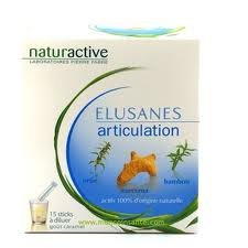 Naturactive - Elusanes Articulations 15 Sticks
