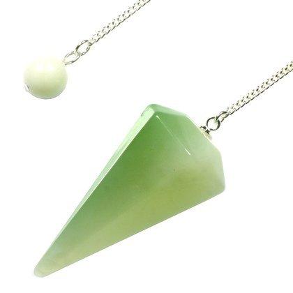 Nuevo Jade péndulo de cristal