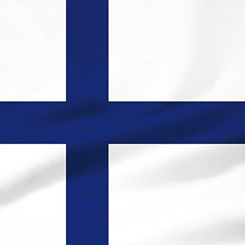 Apple iPhone 5s Housse étui coque protection Finlande Drapeau Drapeau Sac Downflip noir
