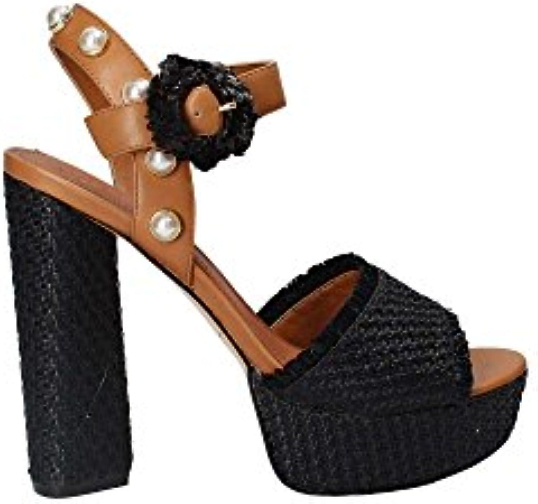 Guess FLMIC2 FAB05 Sandalen mit Absatz Frauen Schwarz 38