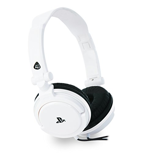 Stereo Gaming Headset Dual Format PS4/PSVita-weiss