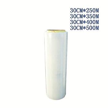 6 Rouleaux De Plastique Mince D'emballage En Plastique PE Transparent D'emballage En Plastique 912 Film D'emballage D'emballage D'épaississement Alimentaire De Taille Alimentaire Taille Frais 30cm * 2