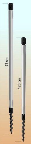 1 er SET - STABIELO Wurmi ® - Schraubstange 123 cm, 1-teilig, Stück - SCHRAUBSTANGE STABIELO - Wurmi-produkte ® - MADE in GERMANY - LANGZEIT-TEST bestanden - HOLLY PRODUKTE STABIELO ® - INNOVATIONEN MADE in GERMANY - Holly ® Produkte STABIELO ® - holly-sunshade ®