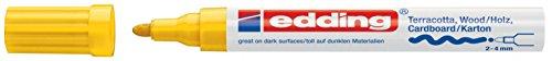 edding Mattlack-Marker edding 4000 creative, 2-4 mm, gelb (Online-shop Party City)