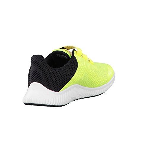 adidas Unisex-Kinder Fortarun Cf K Sneakers solar yellow/ftwr white/core black