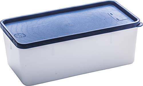 Westmark 3 Gefrierdosen, Plastik, transparent, 21.2 x 11.2 x 8.3 cm, 3-Einheiten