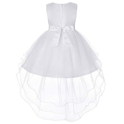Amphia - Baby Mädchen Kleidung Sets - Kinder ärmelloses Kleid aus Bow Mesh-Rock,(3J-8J)