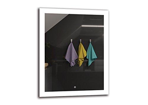 Espejo LED Deluxe   Dimensiones Espejo 70x90 cm