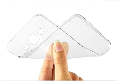 KPH MOBILES Ultra Thin 0.3mm Clear Transparent Flexible Soft TPU Slim Back Case Cover For Sony Xperia z1  available at amazon for Rs.100
