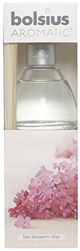 Aromatischen Lilac Blossom Duft Reed Diffuser, Nicht giftig Öl, transparent, 7,5x 25cm - Tee-reed-diffuser-Öl
