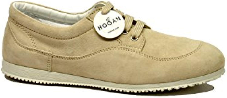 Hogan Mujer HXW00E00010CR0C406 Beige Gamuza Zapatillas  Venta de calzado deportivo de moda en línea
