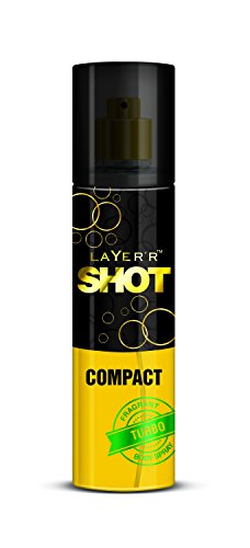 Layer'r Shot Compact Fragrant Body Spray, Turbo, 60ml