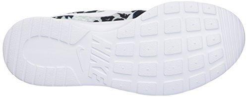 Nike - Wmns Tanjun Print, Scarpe sportive Donna Argento/bianco-argento-nero (Pr Platinum/White-Pr Pltnm-Blk)
