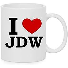 I taza del corazón JDW (amor)