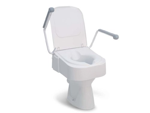 Drive Medical mit Armlehne, Toilettensitzerhöhung TSE 150, weiß