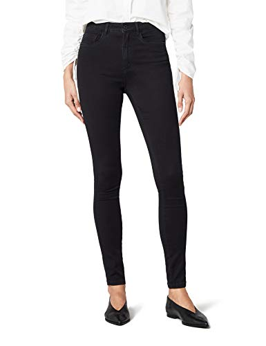 ONLY Damen Jeanshose Onlroyal High Sk Jeans Pim600 Noos ,Schwarz (Black) ,32/M - High-schrank