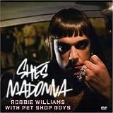 Robbie Williams & Pet Shop Boys She's Madonna DVD Single w/ Rare Audio Remixes & Video w/ Photo Gallery