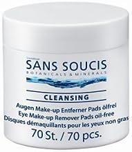 Sans Soucis Limpieza Eye Pads removedor de maquillaje, Paquete 1er (1 x 0,122 l)