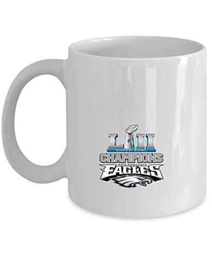 Philadelphia Eagles Kaffeebecher, Eagles Mug, Super Bowl 52 Champions Philadelphia Eagles, NFL NFC National Football League, Perfect Unique Gi