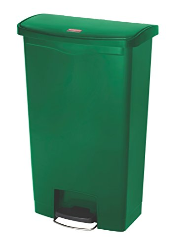 rubbermaid-1883586-68l-18g-fs-slim-jim-step-on-a-pedale-verde-pattumiera-in-plastica-plastica-50-x-3