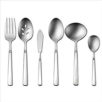 Oneida Easton 5-teiliges Besteck Set, Service für 1 6 Piece silber Oneida Easton