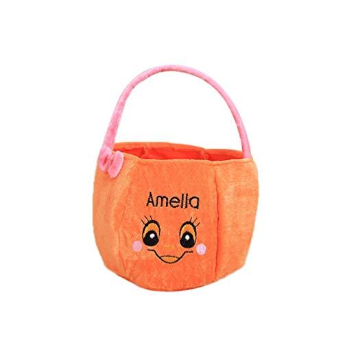 Mounter-Home Zubehör 2.018Candy/Süßigkeiten Taschen Trick Treat Körbe Witzige flauschig Staubbeutel Tragetaschen Kids, C, 15 X 20 cm. (Trick Treat Or Halloween Körbe)