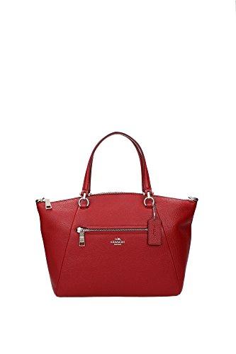 handtasche-coach-damen-leder-rot-und-silber-34340svde3-rot-85x205x26-cm
