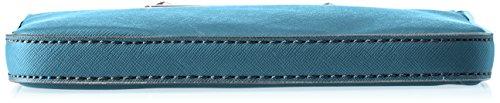 Guess Hwvy6693720, Borsa a Mano Donna, 12x22.5x28.5 cm (W x H x L) Multicolore (Teal)