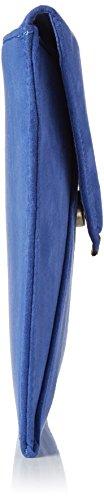 Dorothy Perkins - Envelope Clutch, Pochette da giorno Donna Blu (Blue)