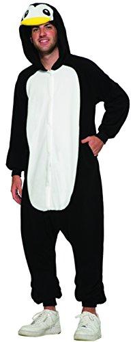 Pinguin Plüsch Einteiler - Tierkostüm
