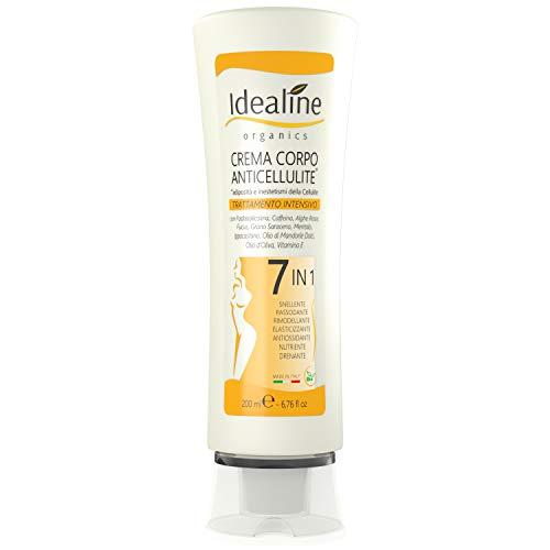 Scopri offerta per Crema Anticellulite Professionale 7in1 BIO Snellente Rassodante Corpo Ultra Intensivo 200ml Idealine