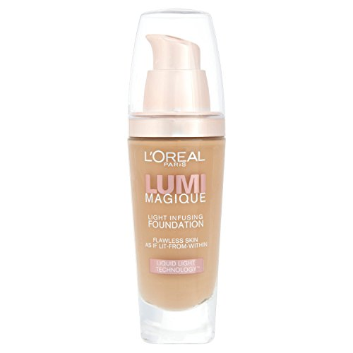 L'Oréal Paris Lumi Magique, Fondotinta, Gold Sand, 30 ml