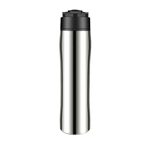 Qlan Französisch Presse Kaffeebereiter 350 ml Presse Kaffee Topf Thermo Teekanne Kaffeetasse Reise