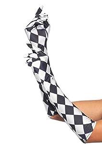 Leg Avenue- Mujer, Color blanco y negro, Talla Única (EUR 36-40) (374822007)