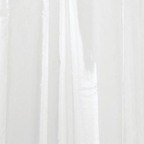 InterDesign 3.0 Liner Futter für Duschvorhang, 183,0 cm x 183,0 cm großer Vorhang aus schimmelresistentem PEVA mit zwölf Ösen, durchsichtig - Bild 9