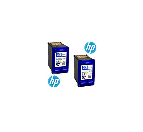 HP Cartucho de tinta nº 57 Cyan/Magenta/Yellow Pack of 2