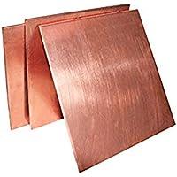 Kupferblech, 99,9% DIY handgefertigtes Material reines Kupfer Tabletten Stärke: 4 mm