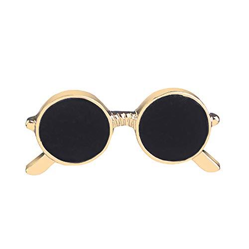 Wicemoon Brosche Mini Sonnenbrillen Boutonniere Anzug Kragen Schal Schnalle Kleidung Deko Zubehör