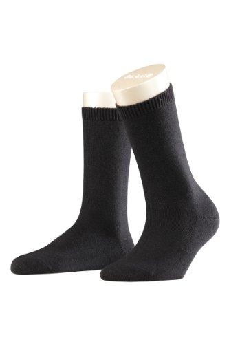 FALKE Damen Socken 47548 Cosy Wool SO, Gr. 39/42, schwarz (black 3009) (Damen-kaschmir-socken)