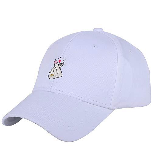 GIRLAA Männer Und Frauen Casual Hüte Niedlichen Hüte Einfach Einstellbar Design Hut Hip Hop Frauen Baseball Cap Sport Cap Uv Schutz Visier (Graduation Lila Cap)