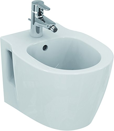 Ideal Standard e119001 Connect Space Hänge Bidet 48 x 36 weiß