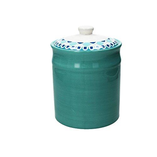 Kaffeedose BLUEAPP, türkis, 2800 ml. Volumen, 23 cm hoch, aus Keramik ()