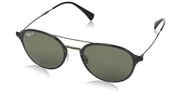 1abd979e9c Ray-Ban Polarized Square Unisex Sunglasses - (0RB4287601 9A55